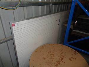 Alluminium Frame White Board