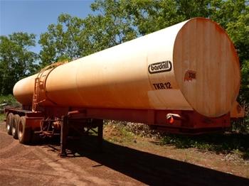 2005 Tristar 26,000 Litre Tanker Triaxle Trailer