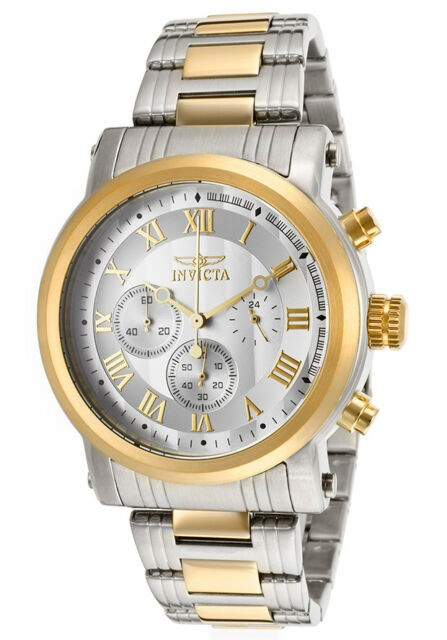 Striking new Invicta Specialty 18k gold ion plated watch