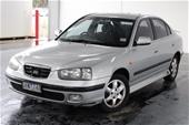 Unreserved 2003 Hyundai Elantra GLS XD Automatic