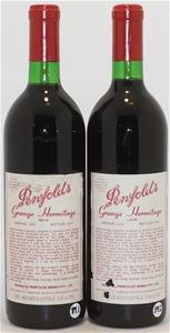 Penfolds `Bin 95` Grange Hermitage 1989