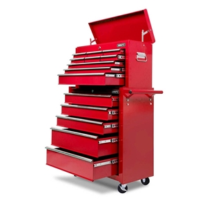 Giantz 14 Drawers Toolbox Cabinet Mechan