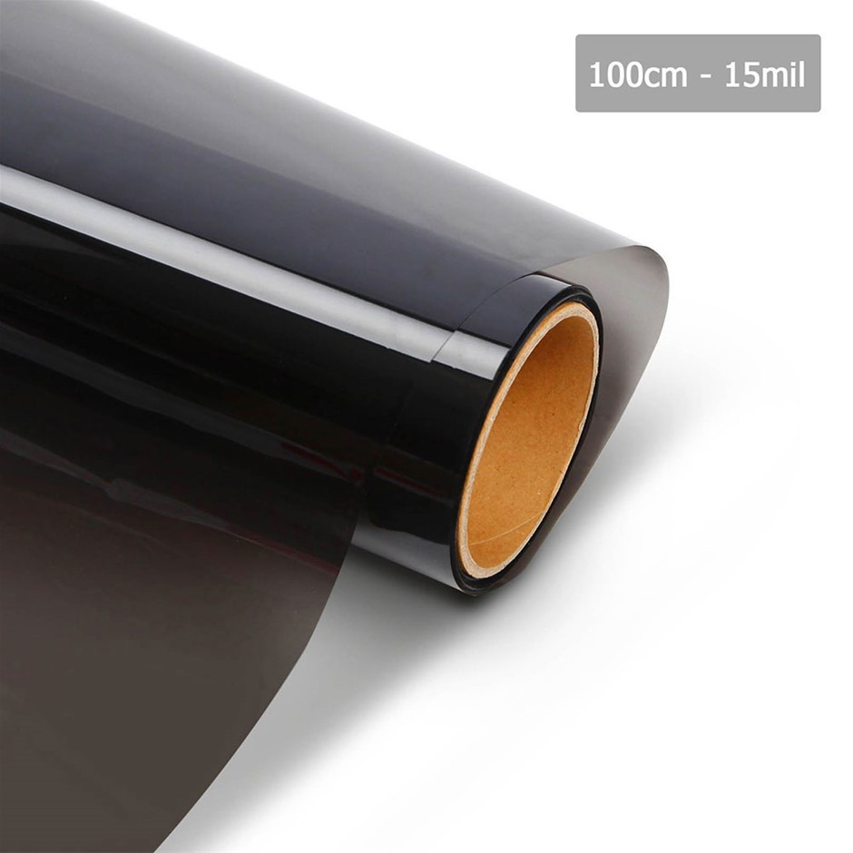 Giantz Window Tint Film Black Commercial Car Auto House Glass 100cm x 30m