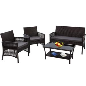 Gardeon Outdoor Furniture Rattan Set Gar