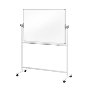 Mobile Whiteboard Free Stand Double Side