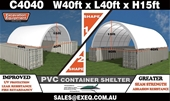 Unused Container Shelters – Perth