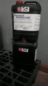 Ardrox 6367 gas turbine compressor cleaner