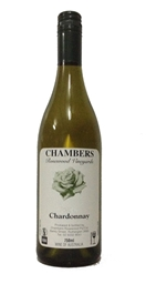Chambers Chardonnay 2009 (12 x 750mL), Rutherglen, VIC.