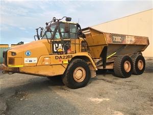 2016 Caterpillar 730C2 Articulated Dump