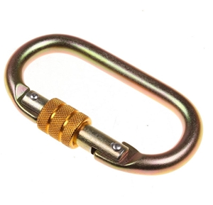 2 x Screw Double Locking Karabiners. 25K
