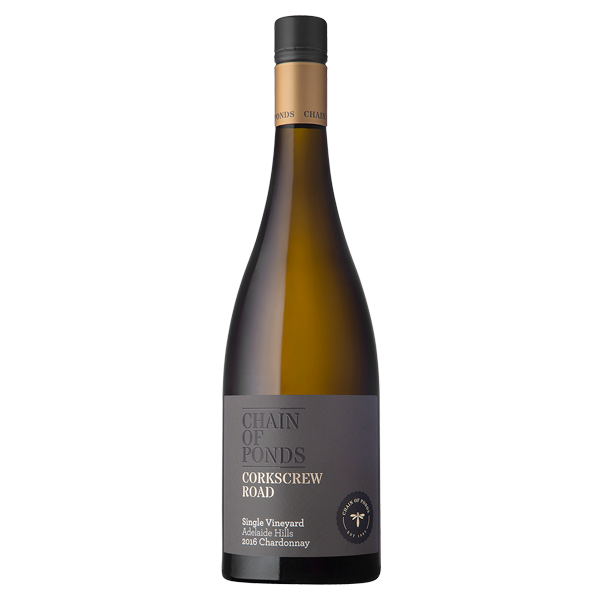 Chain of Ponds `Corkscrew Road` Chardonnay 2017 (6 x 750mL), SA.