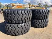 Unused Radial Earthmoving Tyres - Toowoomba