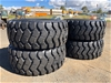 Qty of 4 x Unused 29.5R25 Radial Earthmoving Tyres