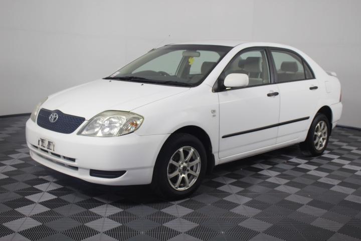 2002 Toyota Corolla Ascent Sedan