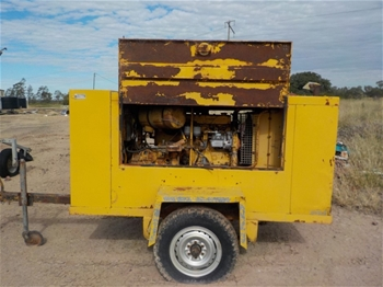 Ford Industries Mobile Compressor