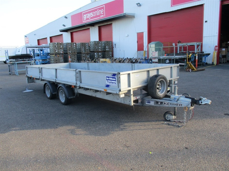 Ifor Williams 2 Axle LM2 Tandem Plant Trailer