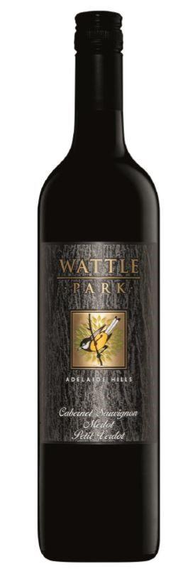 Wattle Park Cabernet Merlot Petit Verdot 2015 (6 x 750mL) Adelaide Hills
