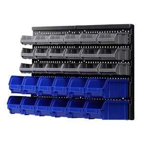 Giantz 30 Bin Wall Mounted Rack Storage