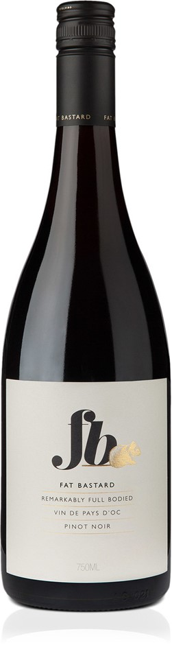 Fat Bastard Pinot Noir 2017 (12 x 750 ml), Languedoc, France