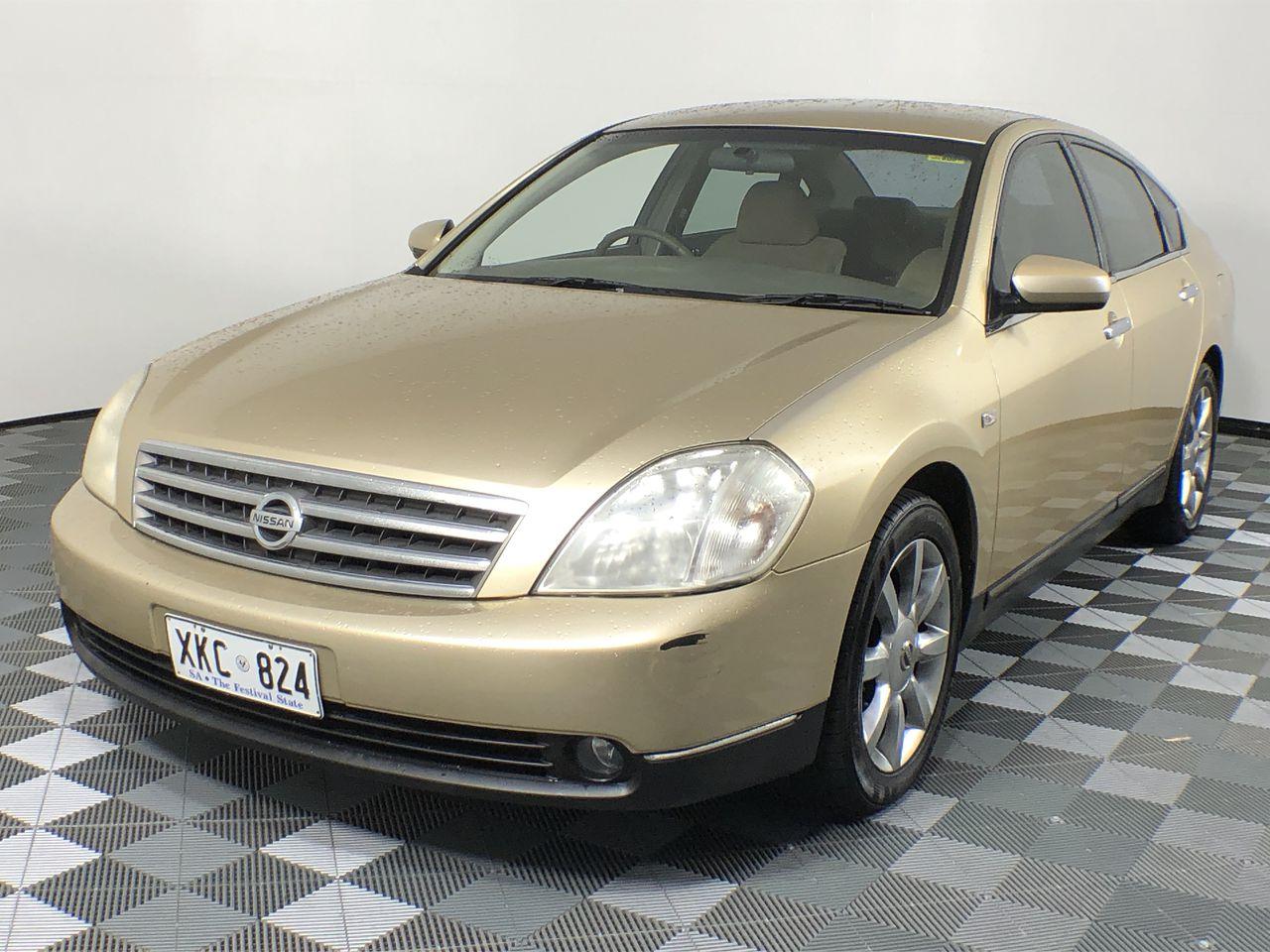 2004 Nissan Maxima ST-L J31 Automatic Sedan