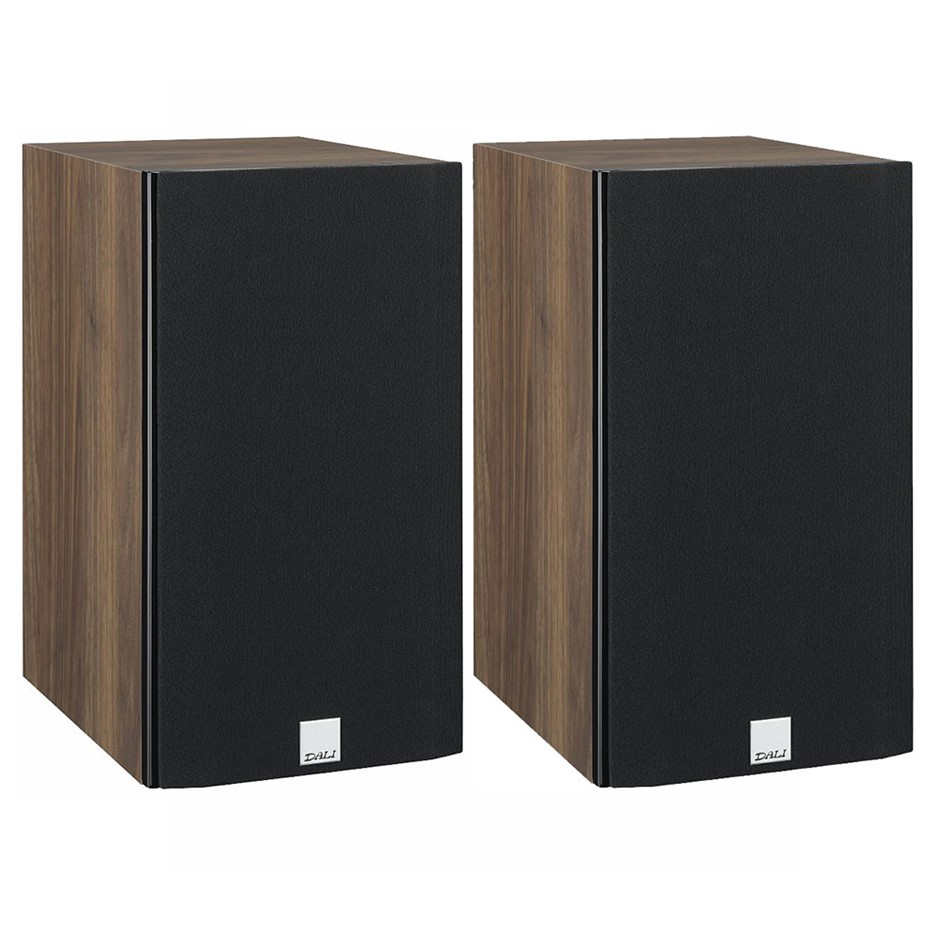 Dali Opticon 2 Compact Stand-Mount Speakers (Pair) (Walnut)