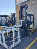 Unreserved 4 Wheeled Counterbalance Forklift Sale