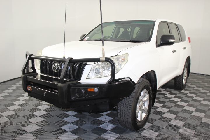 2011(2012) Toyota LandCruiser Prado GX T/Diesel Auto Wagon 142,770km