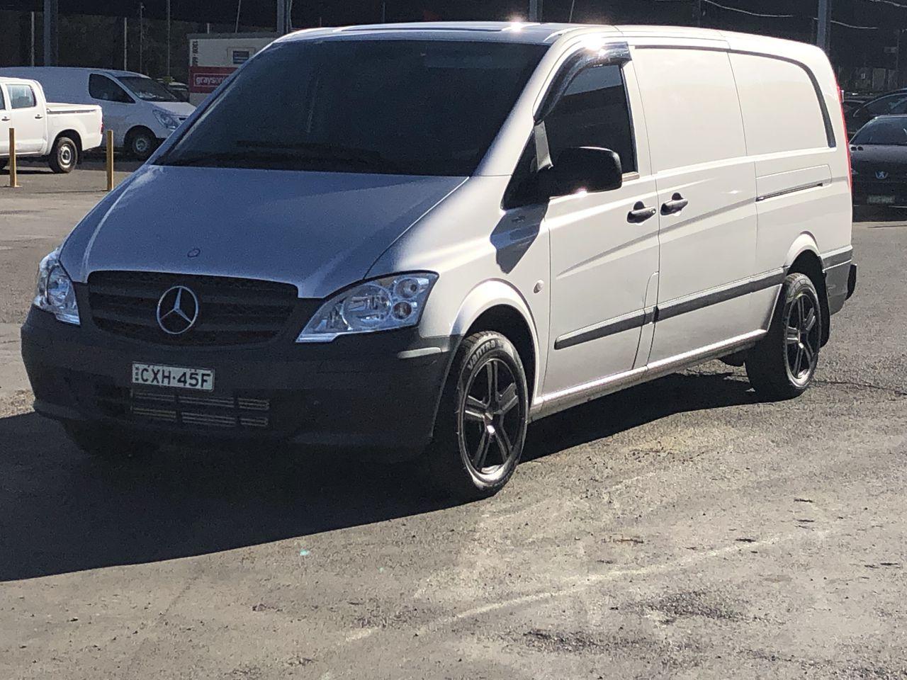 2015 Mercedes Benz Vito 116CDI Auto T/Diesel 5D Van 128,146kms