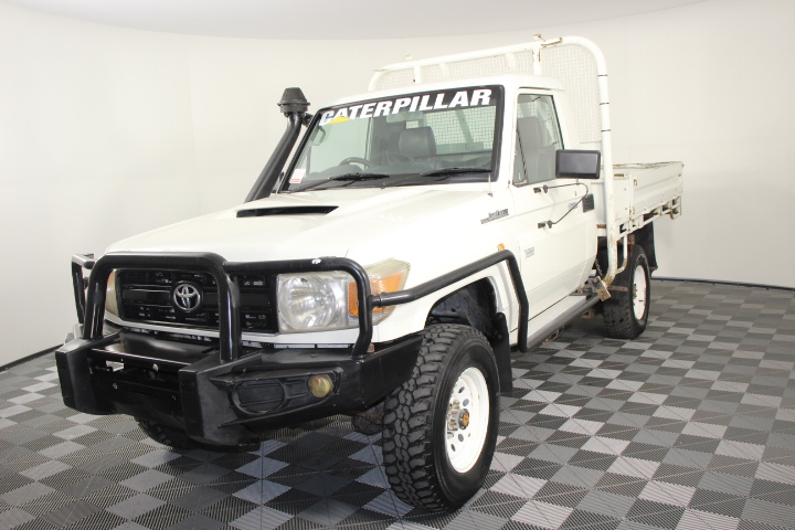 2012 Toyota Landcruiser Workmate (4x4) VDJ79R T/Diesel Cab Chassis