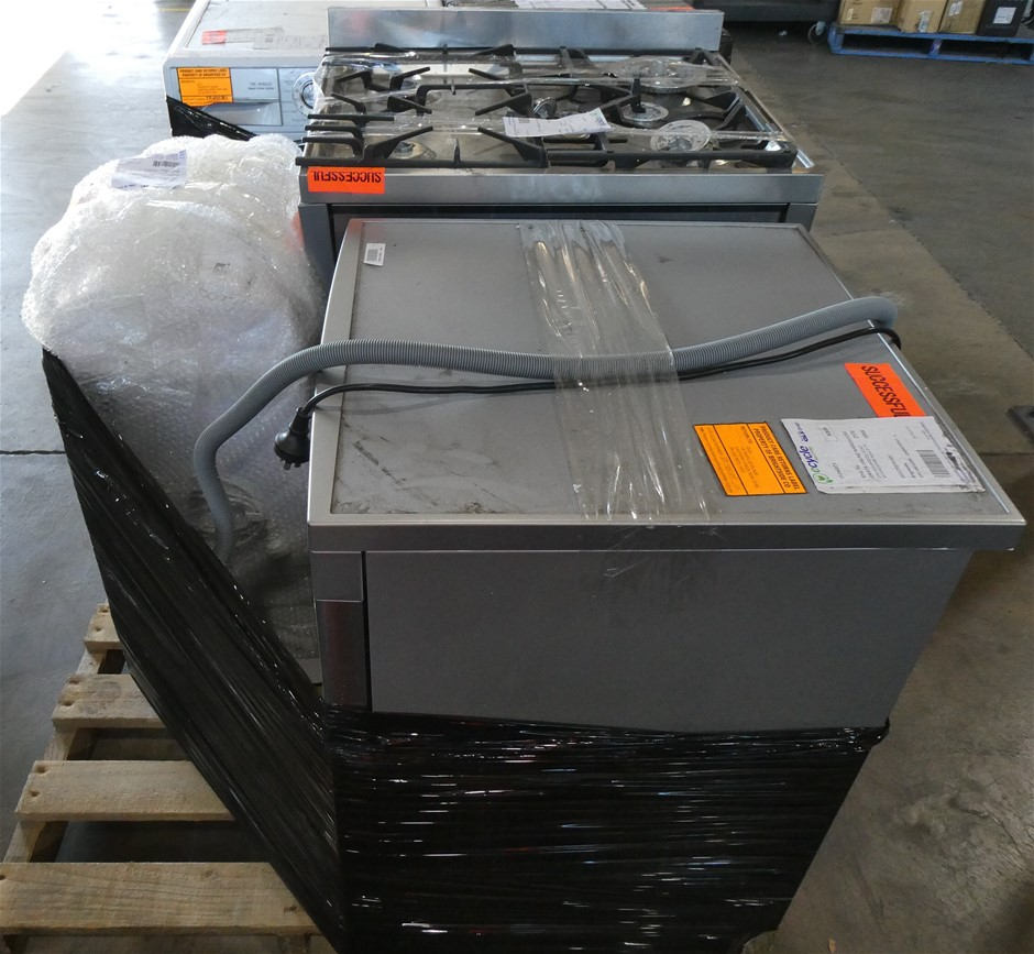 Pallet of Assorted Brand USED/UNTESTED Whitegoods Appliances