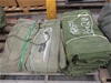 (Lot 356) 3 x Tent Sections / Tarpaulin
