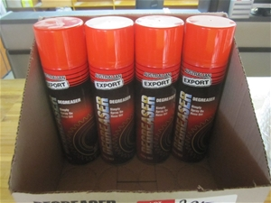 4 x cans of Australian export degreaser,