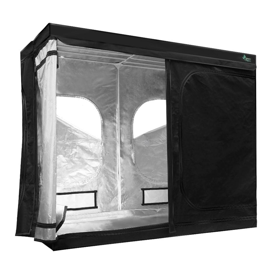 Greenfingers 2.4m x 1.2m x 2m Hydroponics Grow Tent Kits Grow System