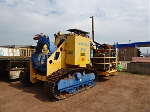 """Track Mounted Pipe Bender, Vietz, 30""""-42"""