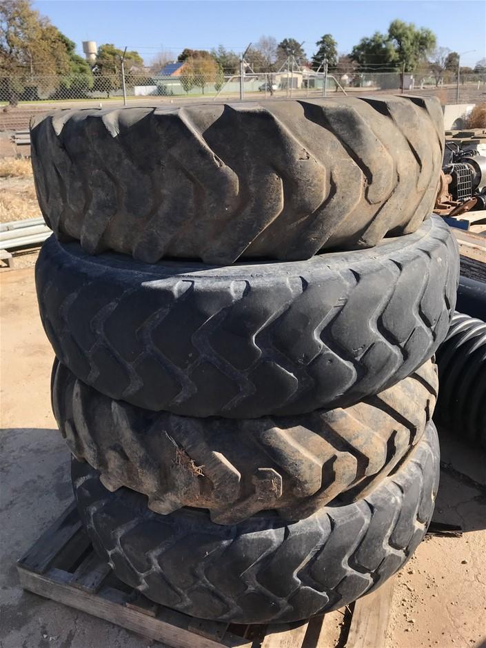 4x Bkt Trac Grader Plus Tyres