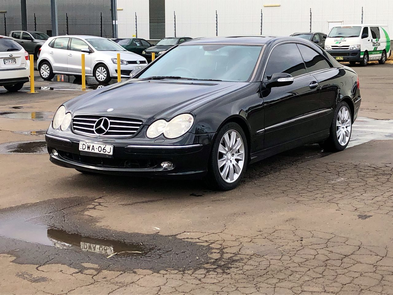 2004 Mercedes Benz CLK500 Avantgarde C209 Automatic Coupe (WOVR)