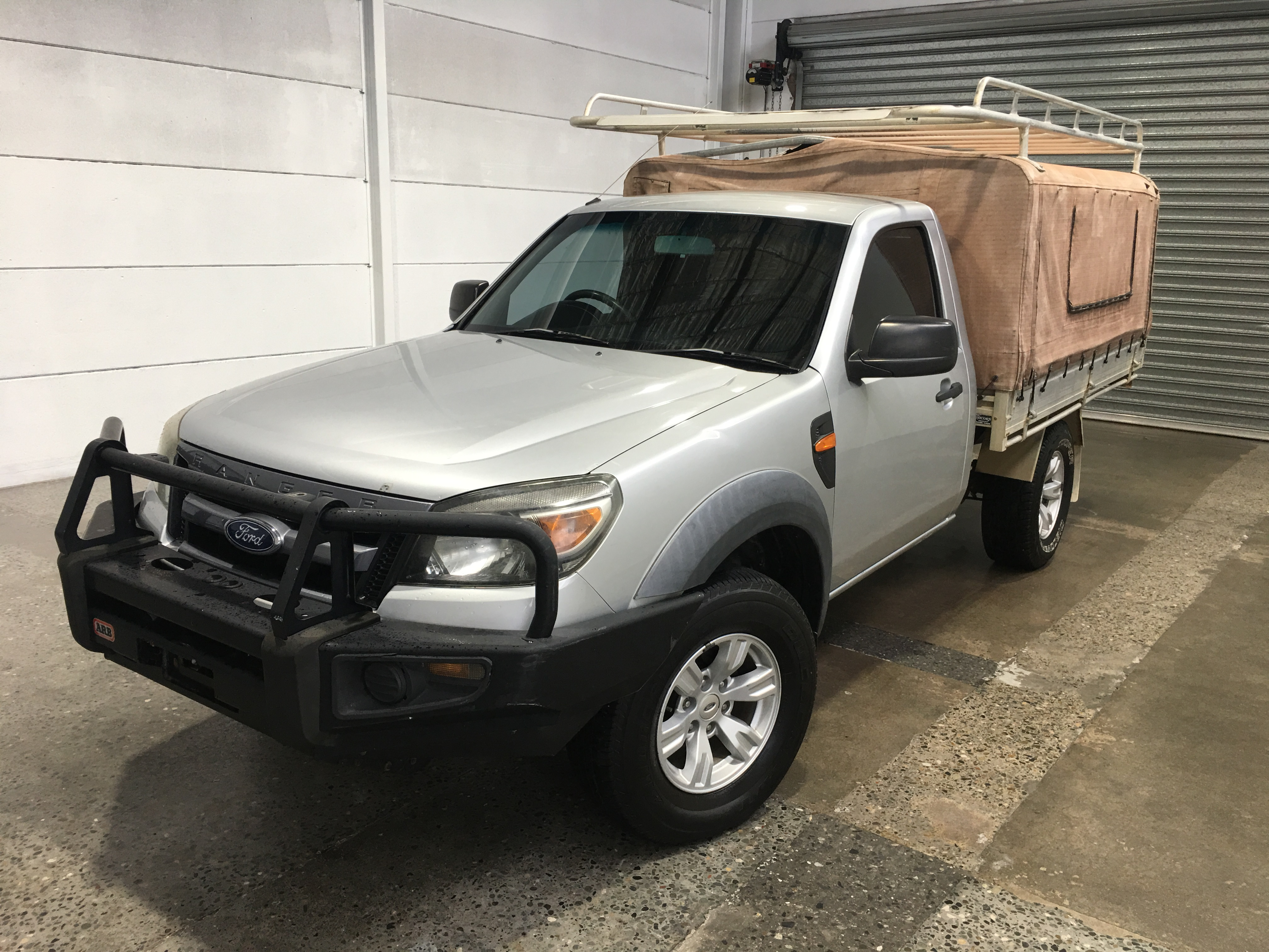 2009 Ford Ranger XL (4x4) PK Turbo Diesel Automatic Cab Chassis
