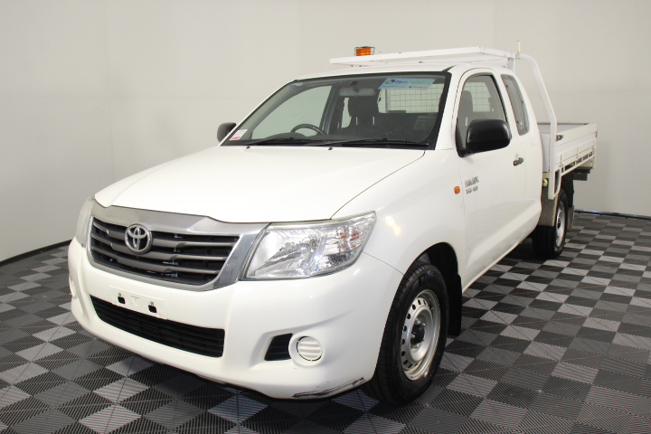 2014 Toyota Hilux SR GGN15R Automatic Ute