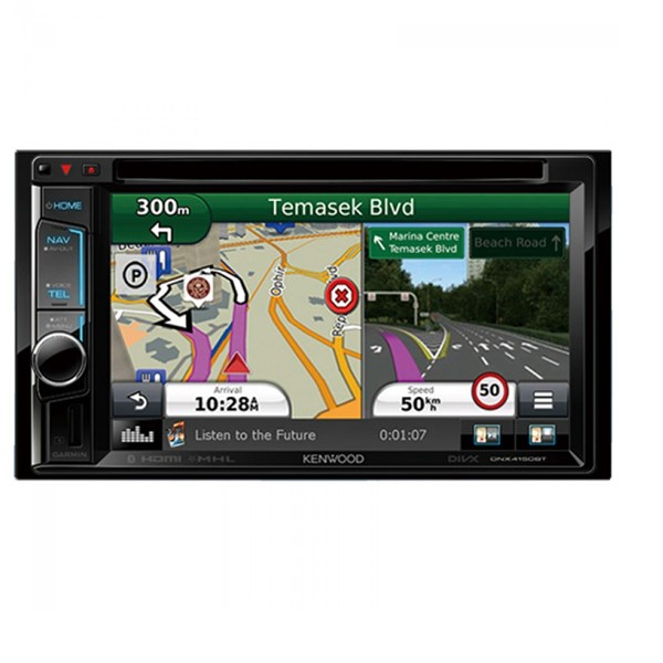 Kenwood DNX5170S 6.2inch WVGA Clear-coated Touch Screen AV Navigation