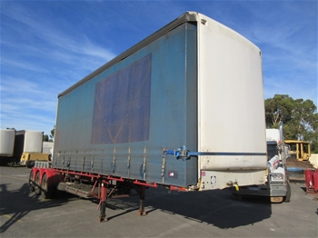 'A' Curtain Sider Trailer
