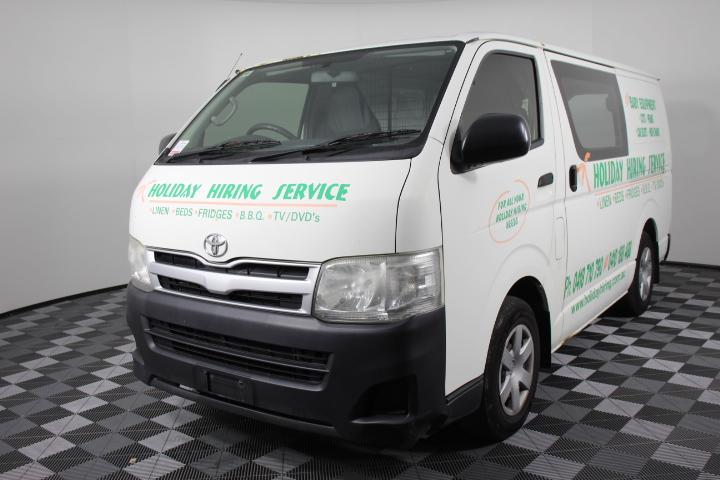 2011 Toyota Hiace LWB Automatic Van