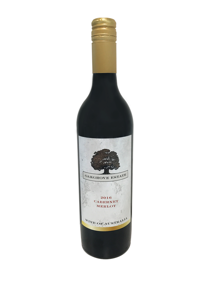 Oakgrove Estate Cabernet Merlot 2016 (12 x 750mL) SEA