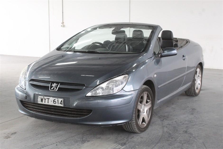 2005 Peugeot 307 CC Dynamic Automatic Convertible
