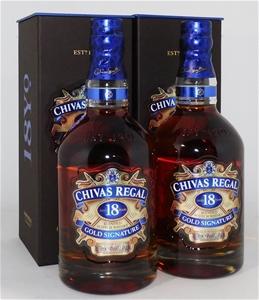 Chivas Regal '18 y/o Gold Signature' Ble