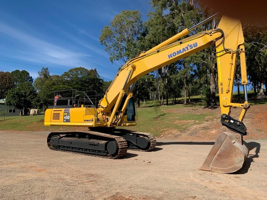 2012 Komatsu PC450LC-8 Hydraulic Excavator