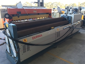 2017 Durma Curving Rollers