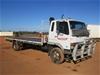 1998 Mitsubishi FM600 4 x 2 Tray Body Truck