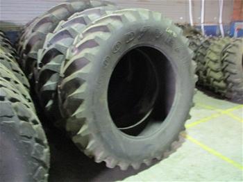 Unused Crane Tyres