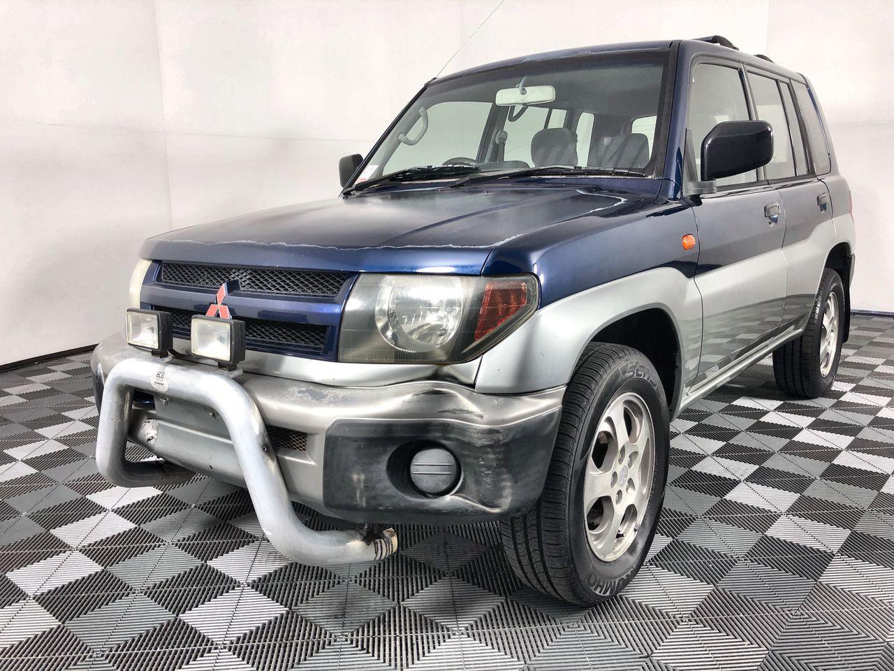 1999 Mitsubishi Pajero IO (4x4) Automatic Wagon