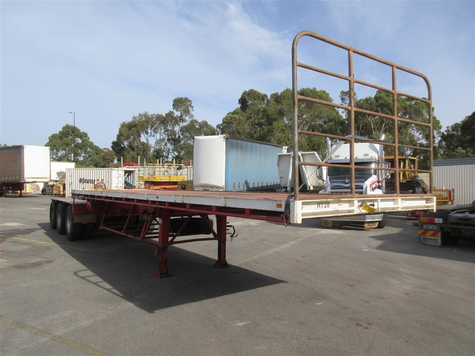 1998 DRTS Tri Axle 'A' Section Flat Deck Trailer